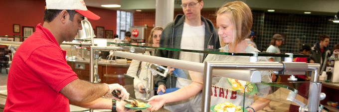 Marketplace at linkins center campus dining illinois state for Watterson dining