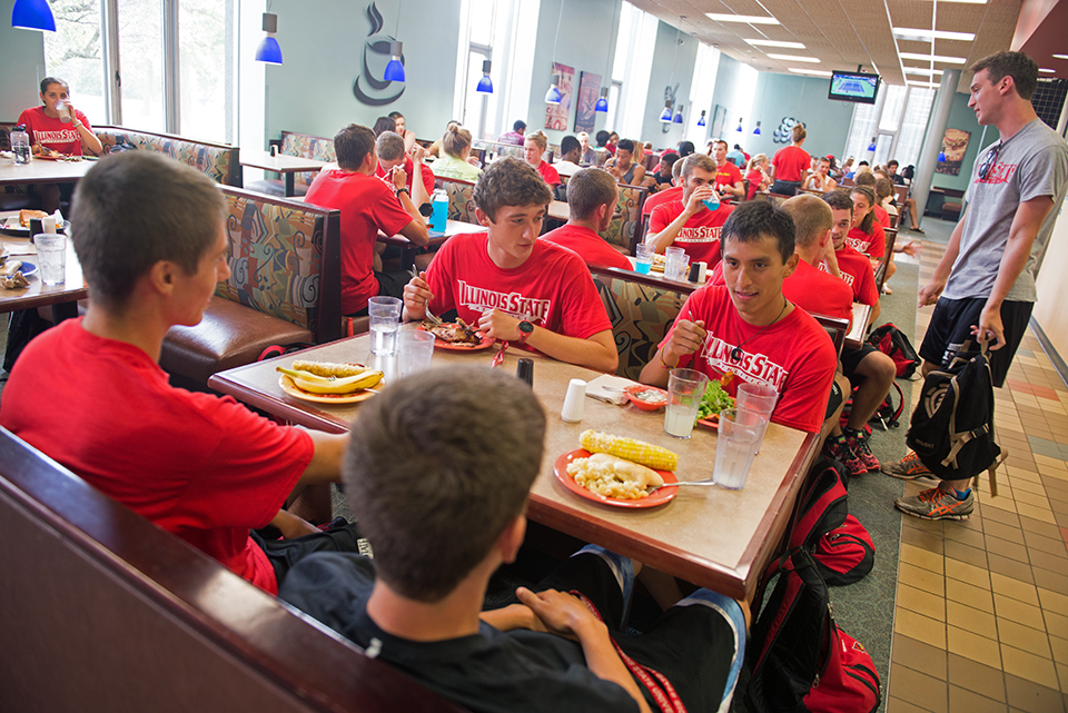 Marketplace At Linkins Campus Dining Illinois State